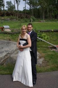 Bröllopskläder herr och dam